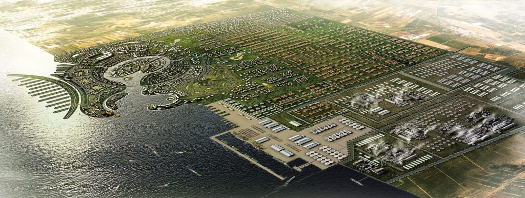 Jazan Economic City, Saudi Arabia